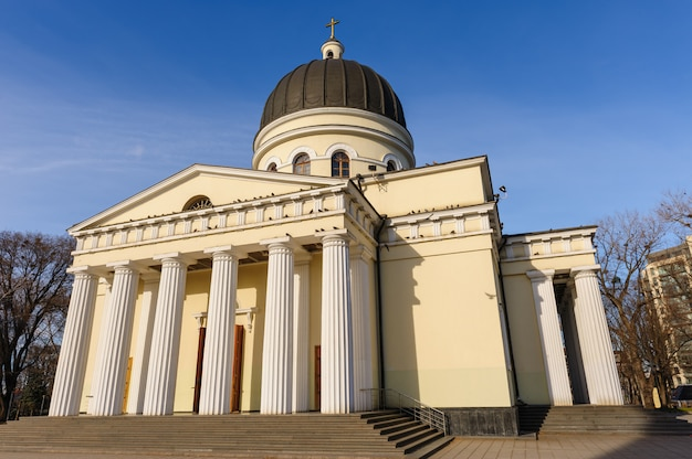 Catedral da natividade em chisinau, moldávia