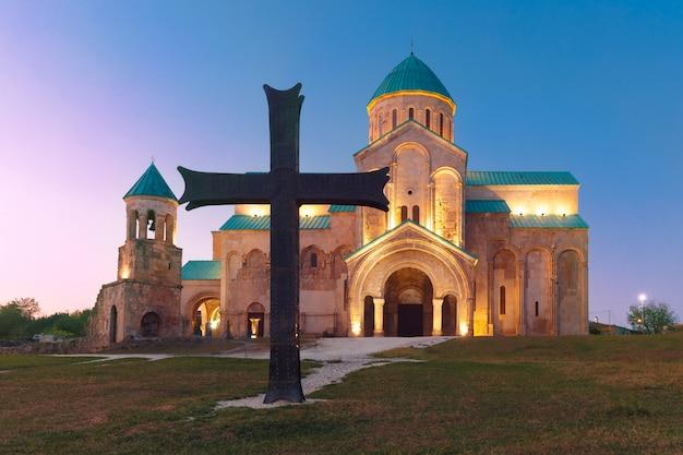 Catedral de bagrati em kutaisi, imereti, geórgia