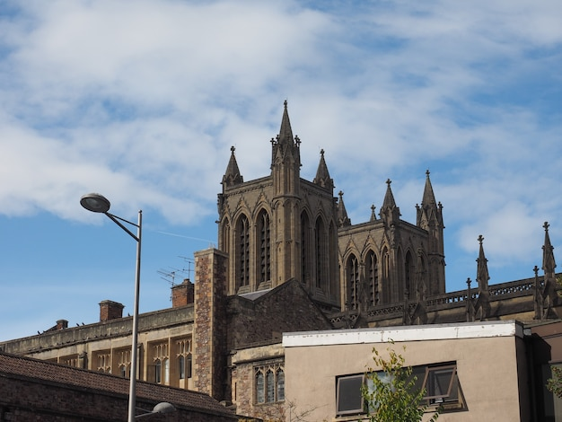 Catedral de bristol em bristol