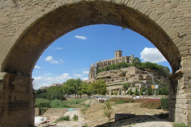 Catedral de la seu, manresa, província de barcelona, catalunha, espanha