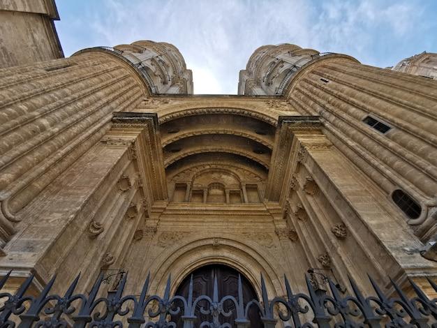 Catedral de málaga na plaza del obispo. málaga, andaluzia, espanha.