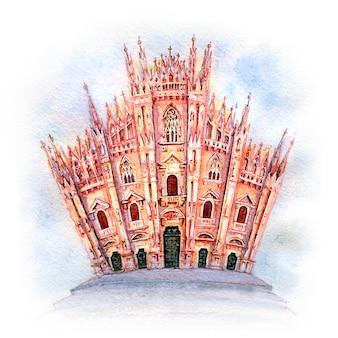 Catedral de milão, itália
