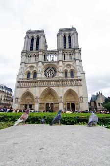 Catedral de notre dame em paris, frança