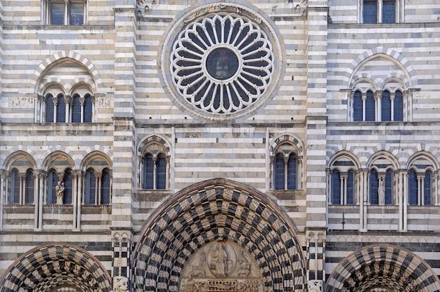 Catedral de san lorenzo, gênova, itália