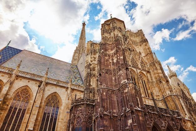 Catedral de santo estêvão (stephansdom), a igreja mãe da arquidiocese católica romana de viena e a sede do arcebispo de vienna.austria.