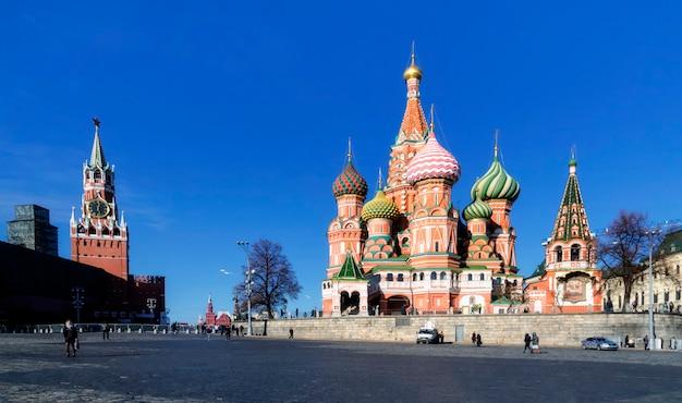 Catedral de são basílio em moskow