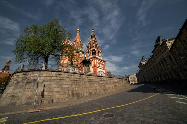Catedral de são basílio na praça vermelha de moscou