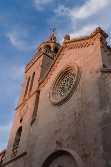 Catedral de são marcos em korcula, croácia
