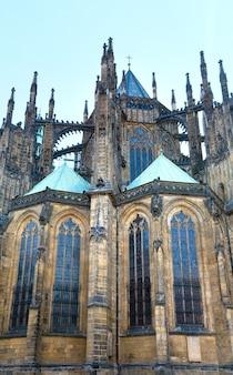 Catedral de são vito em praga (república tcheca), a capela-mor oriental de parler