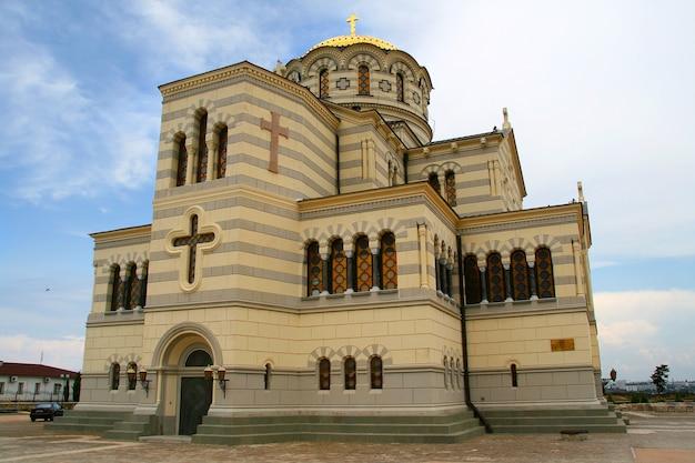 Catedral de são vladimir, chersonese Foto Premium