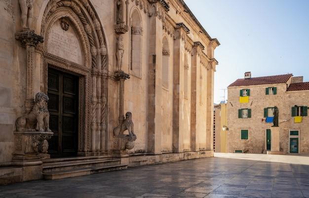 Catedral de st james em sibenik, croácia