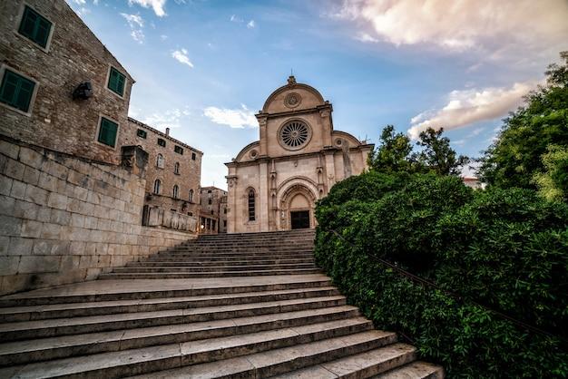 Catedral de st james em sibenik, croácia.