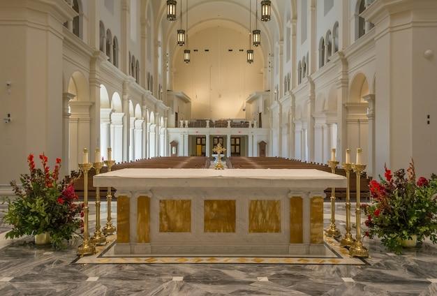 Catedral do santo nome de jesus em raleigh carolina do norte eua