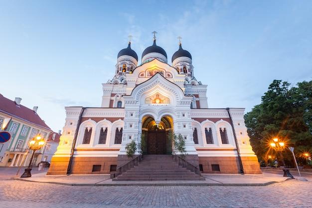 Catedral ortodoxa alexander nevsky em tallinn