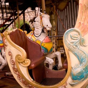 Cavalo de carrossel Foto Premium