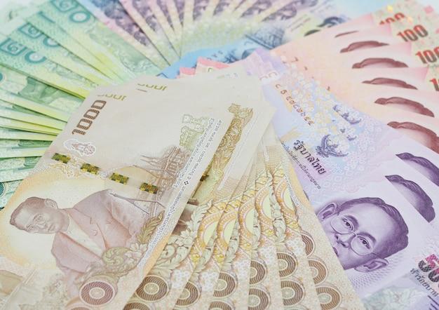 Cédula tailandesa, moeda do baht tailandês.