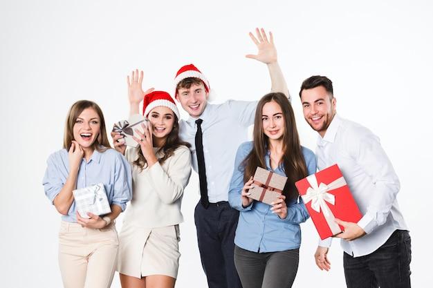 Celebração de ano novo ou natal