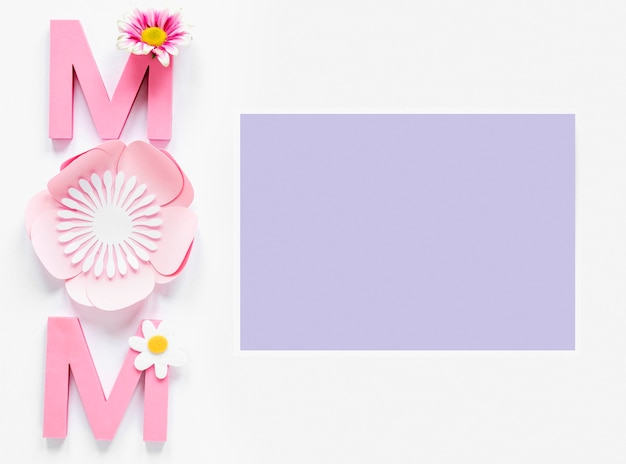 Celebração do dia das mães vista de cima