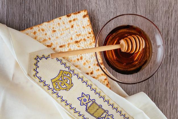 Celebração do feriado judaico rosh hashaná.