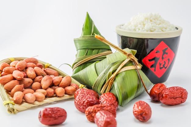Celebração porcelana porco cogumelo arroz