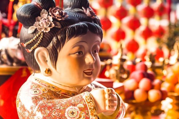 Celebração tradicional chinesa de ano novo