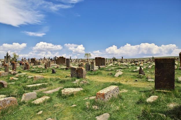 Cemitério antigo, lago sevan, armênia