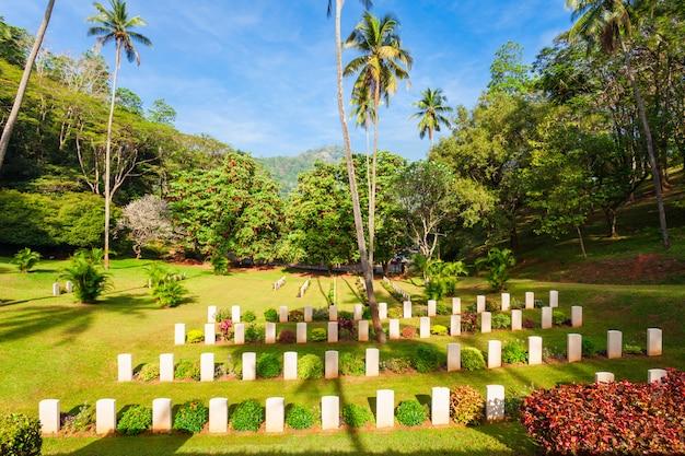 Cemitério da guerra mundial de kandy