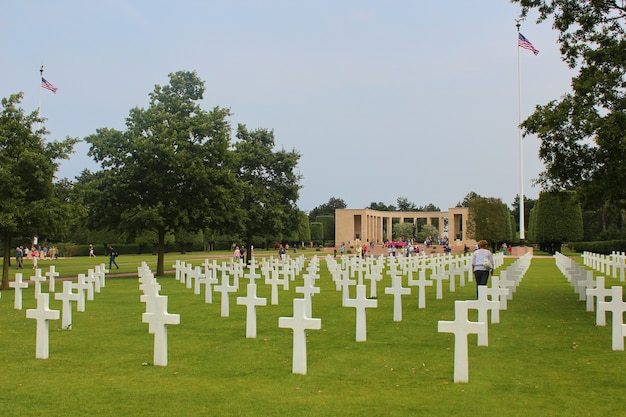 Cemitério militar americano em colleville
