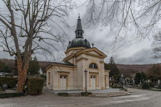 Cemitério purkersdorf na baixa áustria