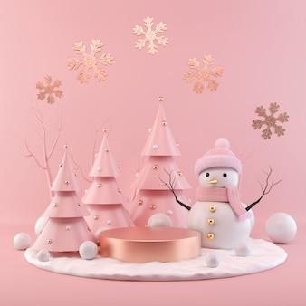Cena de feriado de natal.