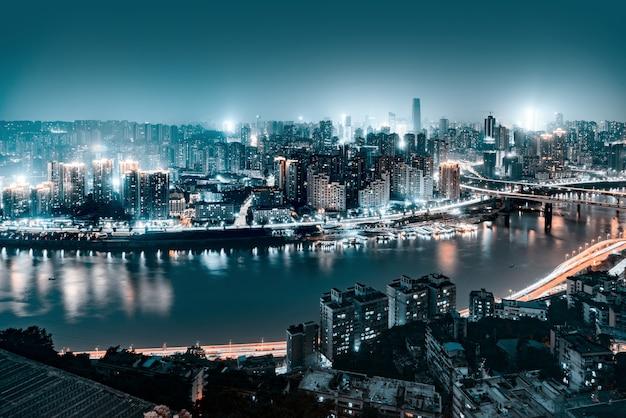Cena noturna de chongqing