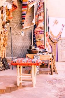Cena rua, em, marrakesh