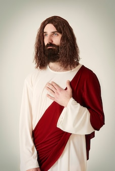 Cena tranquila de jesus cristo
