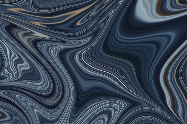 Cenário de acrílico azul escuro para design elegante, plano de fundo, abstrato criativo, arte contemporânea. arte moderna. pintura sobre tela.