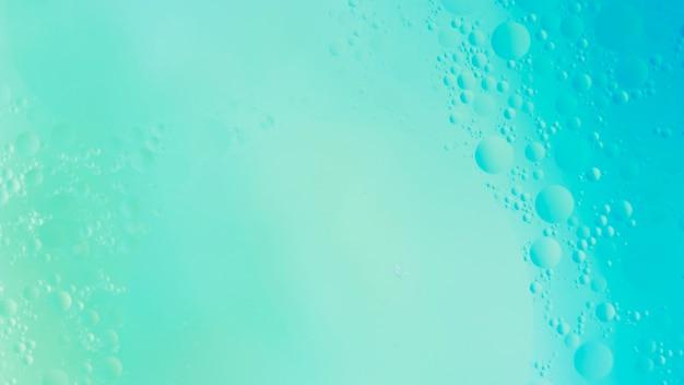 Cenário de bolha aqua texturizado