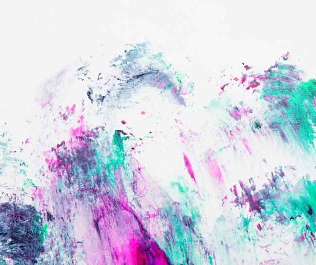 Cenário de esmaltes abstratos sujo desarrumado