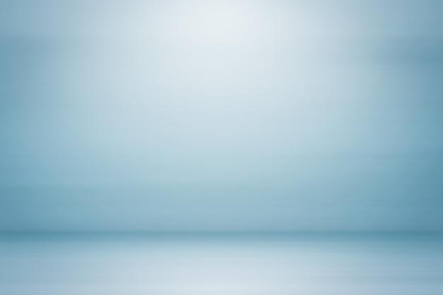 Cenário de estúdio vazio cor azul vintage fundo abstrato gradiente cinza