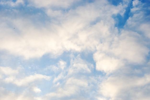Cenário de fundo lindo céu nublado. céu céu
