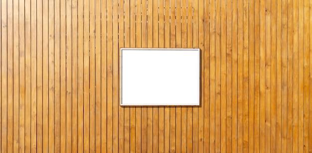 Cenário de madeira com espaço negro.