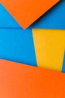 Cenário de papel colorido abstrato
