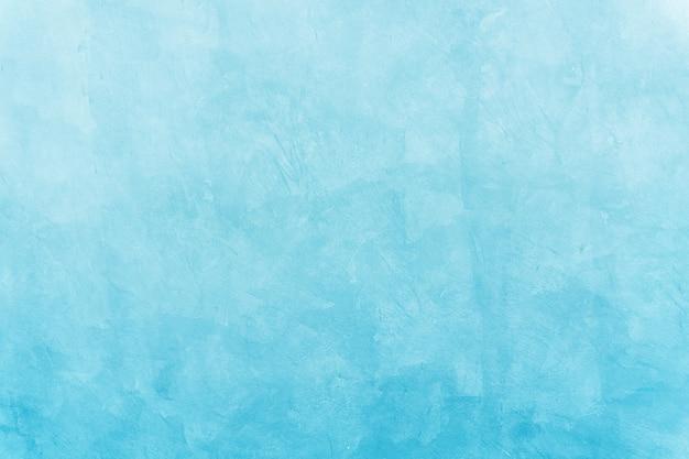 Cenário de parede de cimento azul e fundo