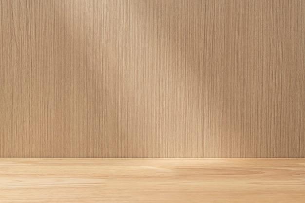 Cenário de produtos em madeira japonesa clara