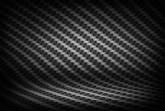 Cenário de textura de fibra de carbono com pontos de luz