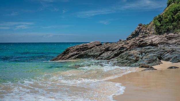 Cenário do mar da ilha tropical