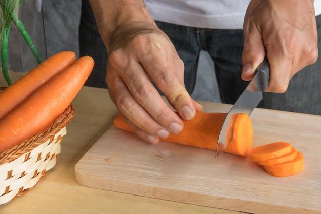 Cenoura na cozinha