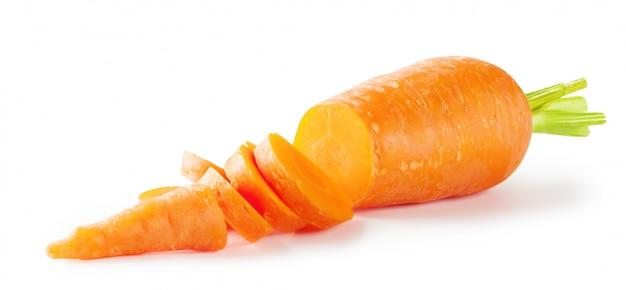 Cenouras com cauda