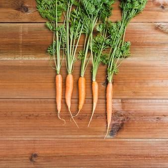 Cenouras com tops