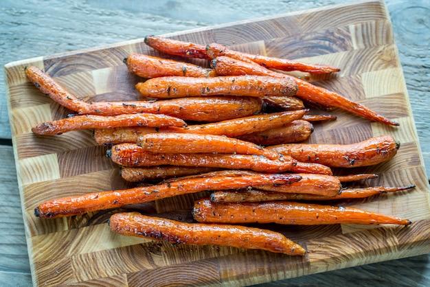 Cenouras vitrificadas
