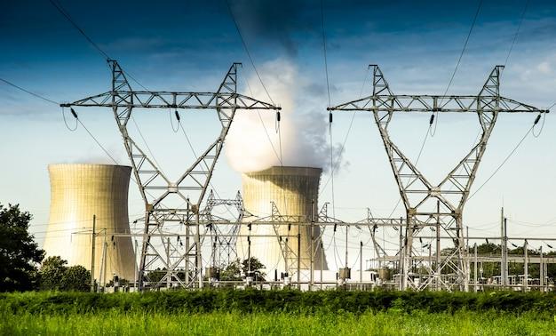 Central nuclear ativa