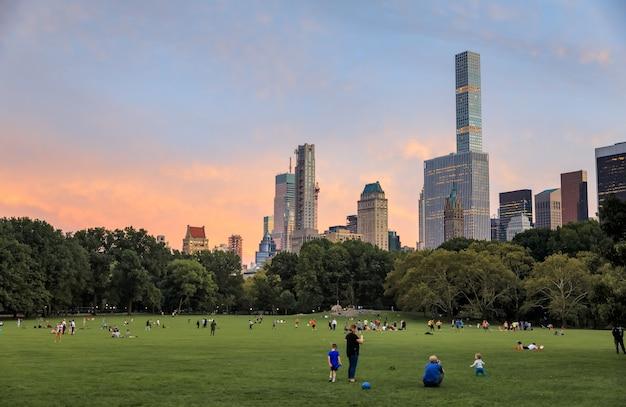 Central park da cidade de nova york